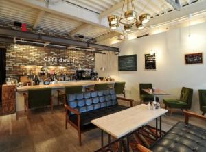 cafe dwarf 店内写真